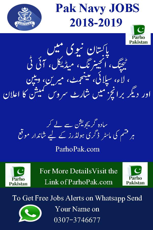 Pakistan Navy Jobs - Parho Pakistan - Latest Jobs in Pakistan