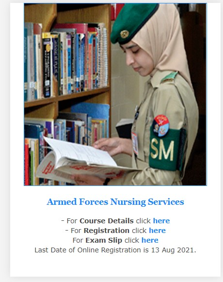 Join Pak Army Jobs AFNS 2021