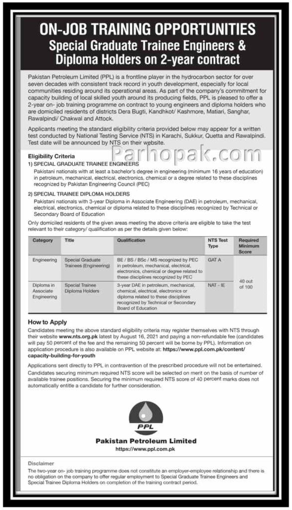 PPL Latest Jobs 2021