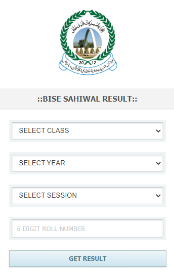BISE Sahiwal Intermediate 12th Class result 2021.